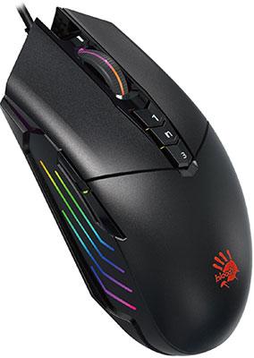 Мышь игровая A4Tech Bloody P91 черный мышь игровая a4tech bloody p91 pro черный
