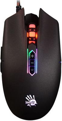Мышь игровая проводная A4Tech Bloody Q80 черный мышь игровая проводная a4tech bloody q82 черный рисунок