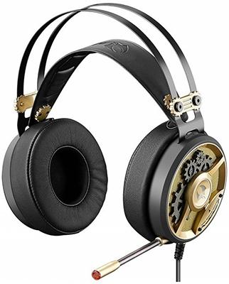 Аудио гарнитура игровая проводная A4Tech Bloody M660 черный/бронзовый аудио гарнитура игровая проводная a4tech bloody j437 черный