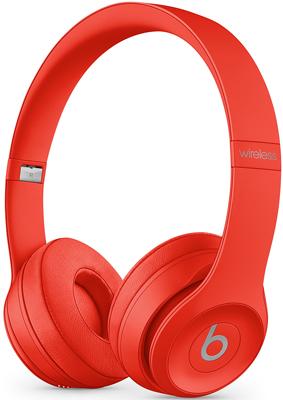 цена на Беспроводные мониторные наушники Beats Solo3 Wireless Headphones - Red MX472EE/A