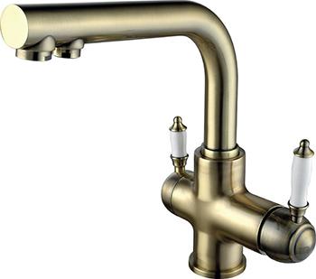 Кухонный смеситель Lemark Villa LM4861B для кухни с подключением к фильтру с питьевой водой смеситель для кухни с подключением к фильтру kaiser vincent 31844 2