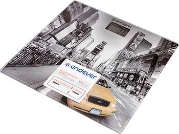 Весы напольные Endever Aurora-557 рисунок Такси фото