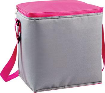Сумка-холодильник Ecos CB-601 серый/розовый 6601