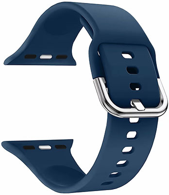Фото - Силиконовый ремешок Lyambda для Apple Watch 38/40 mm AVIOR DSJ-17-40-BL Blue minglilai blue 40