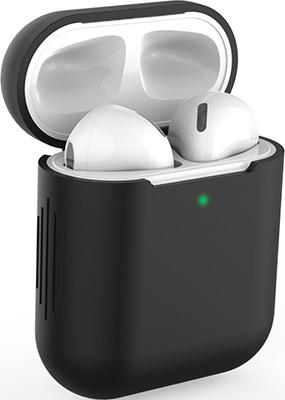 Фото - Чехол силиконовый Eva для наушников Apple AirPods 1/2 - Черный (CBAP04B) домашние тапочки coqui eva