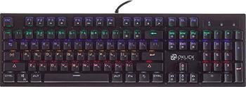 Клавиатура Oklick 940G VORTEX механическая черный USB for gamer LED клавиатура oklick 940g black usb