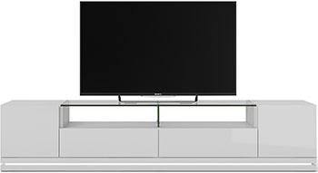Фото - Тумба под телевизор Manhattan RENNES ТВ с LED подсветкой WHITE GLOSS PA16252 484 х 2170 х 448 тумба под телевизор sonorous std 160 i wht wht bs