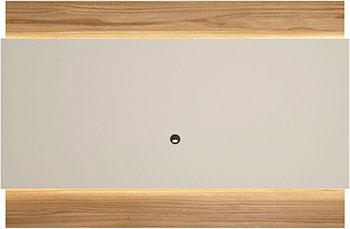 Фото - Панель для телевизора Manhattan LINCOLN 1.9 с LED подсветкой OFF-WHITE MATTE/ CINNAMON PA254051 1352 х 1950 х 80 тв панель manhattan colonia 1 8 rovere euro off white pa251451 1342x 1800 x 80