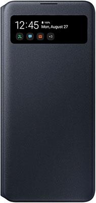 Чехол (флип-кейс) Samsung Galaxy A41 Smart S View Wallet Cover черный (EF-EA415PBEGRU)