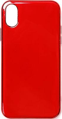 Чеxол (клип-кейс) Eva для Apple IPhone X/XS - Красное вино (7190/X-RV) платье oodji ultra цвет красный белый 14001071 13 46148 4512s размер xs 42 170