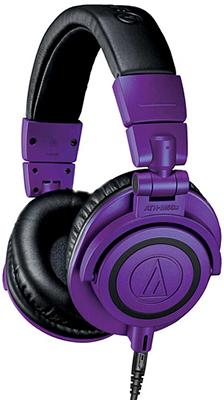 Фото - Наушники Audio-Technica ATH-M50XPB фиолет мониторные наушники audio technica ath m 30 x