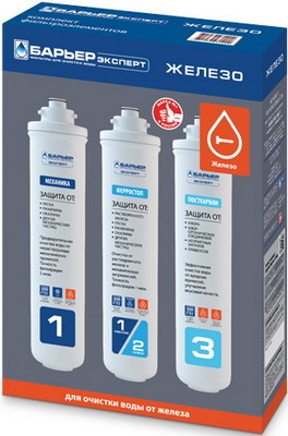 Сменный модуль для систем фильтрации воды БАРЬЕР EXPERT Ferrum Р233Р00 цена