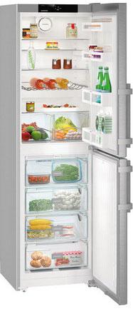 лучшая цена Двухкамерный холодильник Liebherr CNef 3915-20