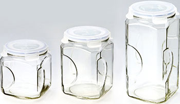 Набор контейнеров Glasslock IG-535 набор контейнеров для масла и соусов 2 штуки glasslock ig 662
