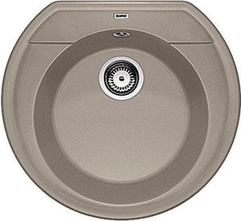 Кухонная мойка BLANCO RONDOVAL 45 SILGRANIT серый беж кухонная мойка blanco rondoval 45 silgranit серый беж