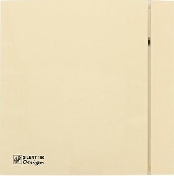 Вытяжной вентилятор Soler & Palau Silent-100 CZ Design 4C (слоновая кость) 03-0103-165