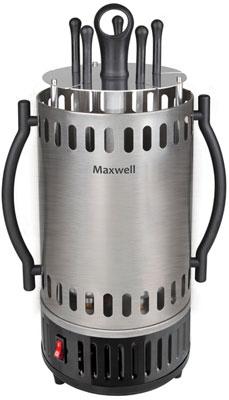 Шашлычница Maxwell MW-1990 электрогриль maxwell mw 1985 черный