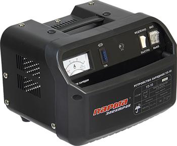 Устройство зарядное Парма УЗ-10 02.008.00001 зарядное устройство калибр уз 10а