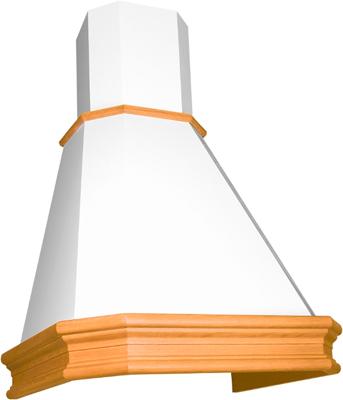 Вытяжка ELIKOR Пергола 60П-650-П3Л КВ II М-650-60-107 бежевый/бук крем патина золото цена и фото