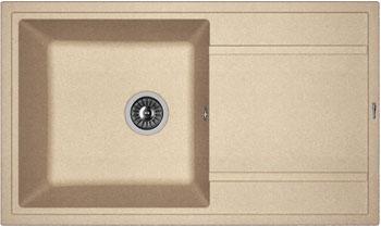 Кухонная мойка Florentina Липси-860 860х510 песочный FG искусственный камень цены