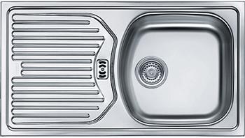 Кухонная мойка FRANKE ETN 614 3.5'' обор пер б/вып 101.0060.164 franke etn 611 56