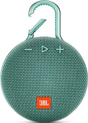 Портативная акустическая система JBL Clip 3 бирюзовый JBLCLIP3TEAL