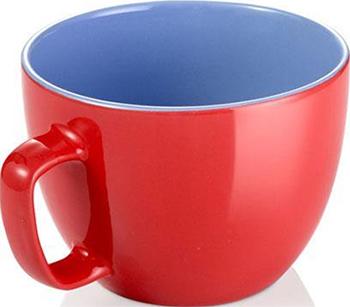 Кружка большая Tescoma CREMA SHINE красный 387194.20 кружка tescoma crema shine лазурный 387192 28