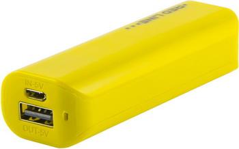 Внешний аккумулятор Red Line R-3000 (3000 mAh) желтый red line b8000 pink gold внешний аккумулятор 8 000 mah