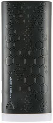 Внешний аккумулятор Red Line UK-113 (10000 mAh) черный red line b8000 pink gold внешний аккумулятор 8 000 mah