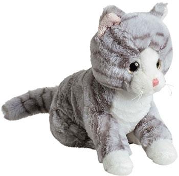 Мягкая игрушка Molli 7950SW_MT Кот серый 20 см