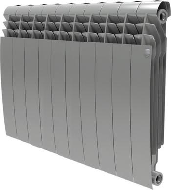 Водяной радиатор отопления Royal Thermo BiLiner 500-10 Silver Satin недорго, оригинальная цена