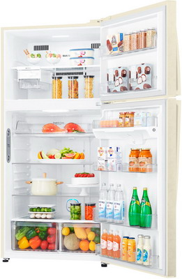 Двухкамерный холодильник LG GR-H 802 HEHZ lg gr m802hmhm