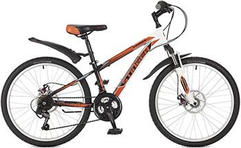 Велосипед Stinger 24'' Caiman D 12 5'' оранжевый 24 SHD.CAIMD.12 OR7 велосипед stinger 24 versus 16 5 оранжевый 24 sfv versus 16 or7
