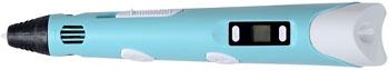 3D ручка HONYA светло-синяя 1CSC 20003176 lonex 2 в 1 cosmo светло синяя