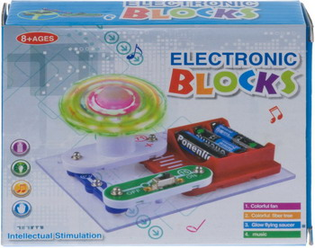 Электронный конструктор Electronic Blocks Лампочка YJ 188171445 1CSC 20003424 электронный конструктор electronic blocks проектор yj 188171447 1csc 20003433
