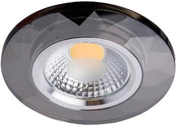 Светильник встроенный DeMarkt Круз 637014601 1*5W LED 220 V встраиваемый светодиодный светильник mw light круз 11 637014601