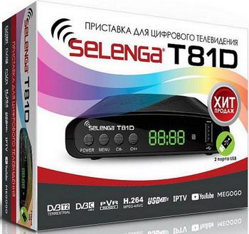 Фото - Цифровой телевизионный ресивер Selenga T 81 D электронная книга