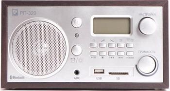 лучшая цена Радиоприемник БЗРП РП-320 темный