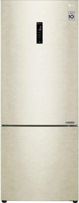Двухкамерный холодильник LG GC-B 569 PECZ бежевый