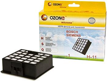 HEPA-фильтр Ozone H-11 целлюлозный для пылесоса ozone h 15 нера фильтр для пылесоса lg