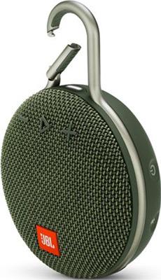 Портативная акустика JBL Clip 3 зеленый JBLCLIP3GRN цена и фото