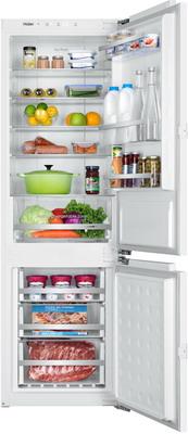 Встраиваемый двухкамерный холодильник Haier BCFT 628 AWRU встраиваемый двухкамерный холодильник haier hrf 229 bi ru