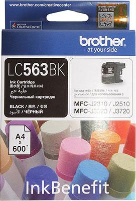 цена на Картридж Brother LC 563 BK черный