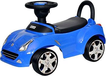 купить Автомобиль-каталка Everflo Машинка 613 синий ПП100004318 по цене 1990 рублей