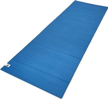 Тренировочный коврик (мат) для йоги Reebok синий RAYG-11050BL
