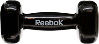 Гантель Reebok 5 кг Dumbbell Black RAWT-11055BK черная