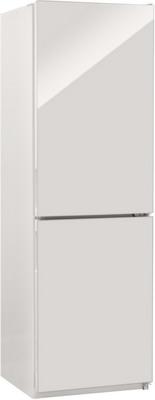 Двухкамерный холодильник NordFrost NRG 119NF 042 белый стекло
