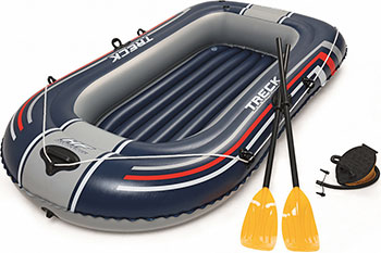 Надувная лодка BestWay Hydro-Force Raft Set 61083 BW черный boyscout 61083