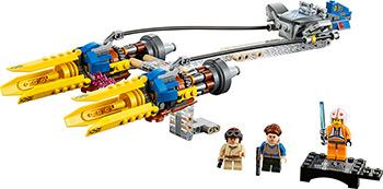 Конструктор Lego Star Wars TM Гоночный под Энакина: выпуск к 20-летнему юбилею 75258