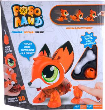 В виде животного(ых) 1 Toy Лисенок интерактивный (модель для сборки) с аксессуаром Т16229 суперблокнот 1 для детей 4 6 лет лисенок